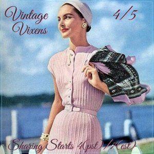 MONDAY 4/5 Vintage Vixens Sign Up Sheet